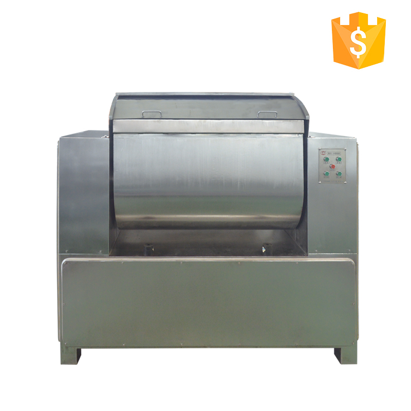 two speed horizontal flour dough mixer for cream biscuit production line