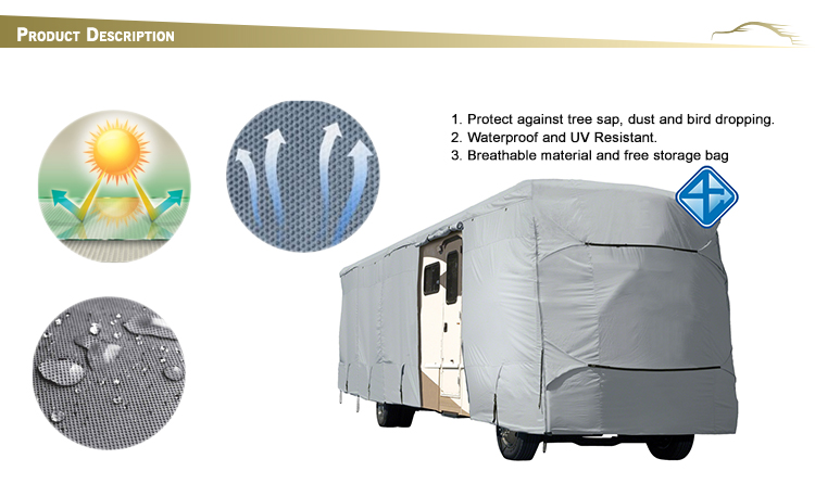 Excellent quality Easily caravan cover motorhome rv covers