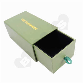 Jewelry Slip Packaging Boxes Gold Foil Stamped Jewelry Slip Packaging Boxes Jewelry Box Drawer Slide