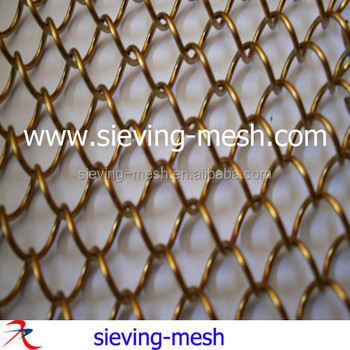 Architectural Material Decorative Metal Drapery Curtains,Buildings ...