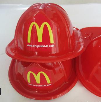 Buon prezzo Novità Del Partito capo fuoco Vigile del fuoco rosso giocattolo  di plastica cappello casco cc2f1dcbd9fd