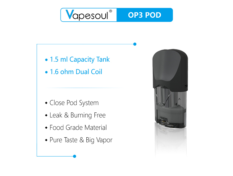 Uae New Product Direct Sales Vapesoul Op3 Huge Vapor Pure Taste Pod System  - Buy Electronic Cigarettes Supplier,Electronic Cigarette Price,E