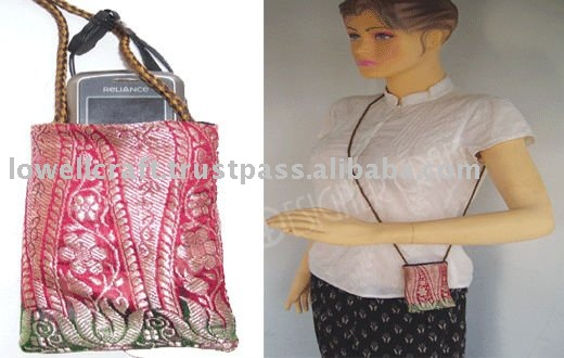 SILK MOBILE BAG