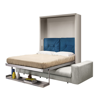 Horizontal Style Smart Size Queen Sofa Wall Bed