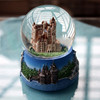 Ancient Castle Theme Crystal ball creative resin ornaments exquisite gift student Home Decorations