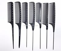 Carbon fiber hair comb Anti-static salon Hair-Cutting comb professional manufacturer(3)