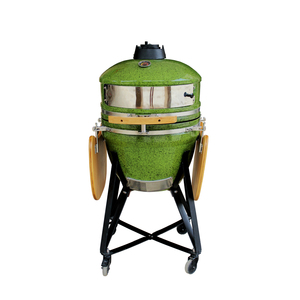 Outdoor Kamado Cooking Style Wood Fireplace