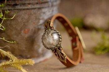 Latest New Model Dandelion Bracelet Antique Br Brown Genuine Leather Men