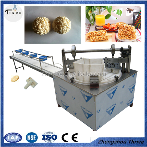 Stable speed cereal Cookie production line,Air Flow Puffing Machine