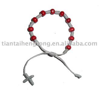 Rope Rosary Bracelet Decenario