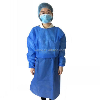 Factory wholesale disposable sterile pp gown surgical gown