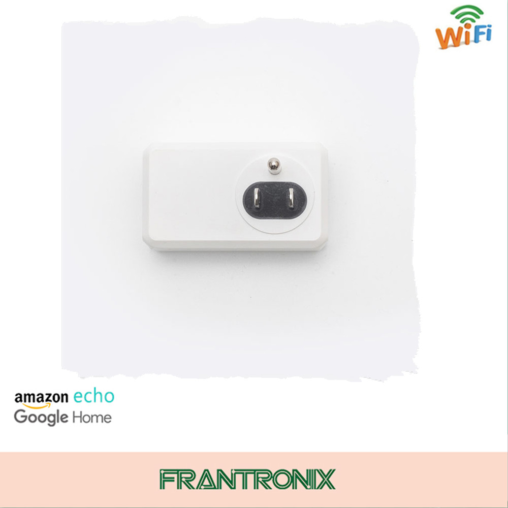 Small Wifi Plug Socket Work with Echo Alexa Google Home Remote control smart wifi plug