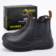 New design cheap safety shoes no lace work shoes for men