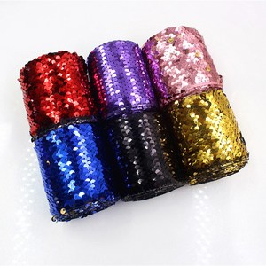 3''75mm high quality sequins color gradient onion foil printed grosgrain ribbon, solid ribbon + gift wrap
