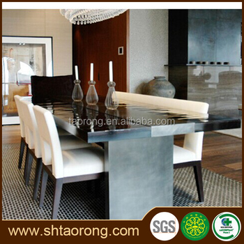 High End Restaurant 8 Seater Dining Tables And Chairs Trdt 397