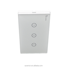 Jinvoo WiFi 3 gang 1 way Smart Home Wifi Light Wall Switch To Control Glass Panel Remote Control Wall Switch