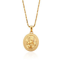 31893 Xuping Fashion 18K Gold Plated custom pendant, Virgin Mary Jewelry Gold Pendant
