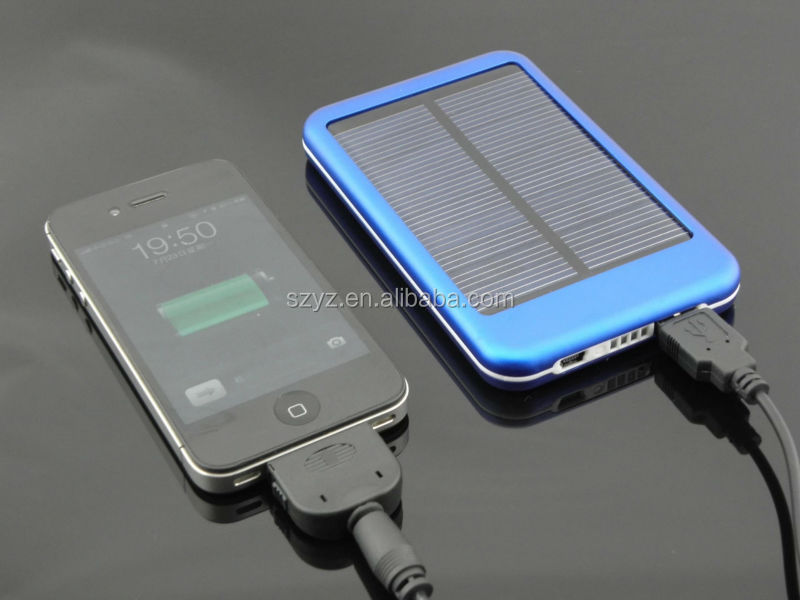 Red 5000-30000mah portable multi solar charger,power bank for mobile phone charging with CE,Rohs