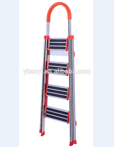 Folding Stainless Steel Step Ladder