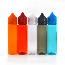 15ml 30 ml 50ml 60ml 100ml 120ml plastic Pet unicorn bottle for e-liquid with childproof tamper evident cap wholesales