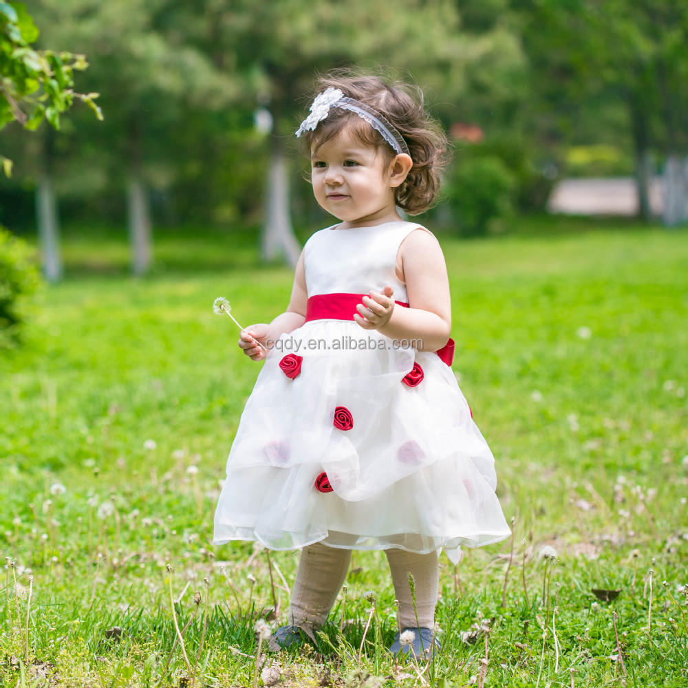 59d3d047b667 Wholesale kid clothing summer 3 year old baby party girls one piece dress  cute baby girls