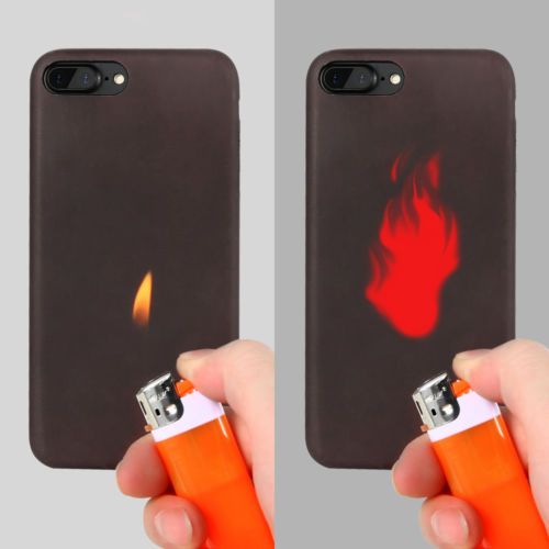 half off 6e097 cf64a Thermal Sensor Heat Induction Phone Case For Galaxy S7 S7edge S8 S8plus -  Buy Thermal Sensor Case,Thermal Sensor,Heat Induction Product on Alibaba.com