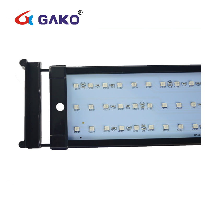 28 cm 7 W CE intelligente high power waterplanten programmeerbare rohs led aquarium licht voor marine tanks