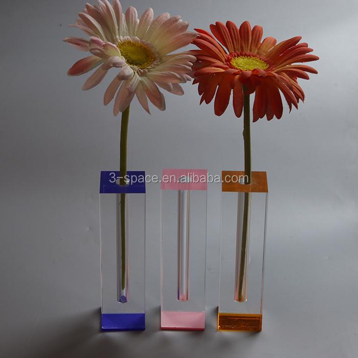 Acrylic Bud Vase For Decoration Acrylic Bud Vase For Decoration