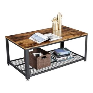 VASAGLE design furniture cheap home goods hobby lobby rustic vintage industrial metal wooden mdf coffee table for living room