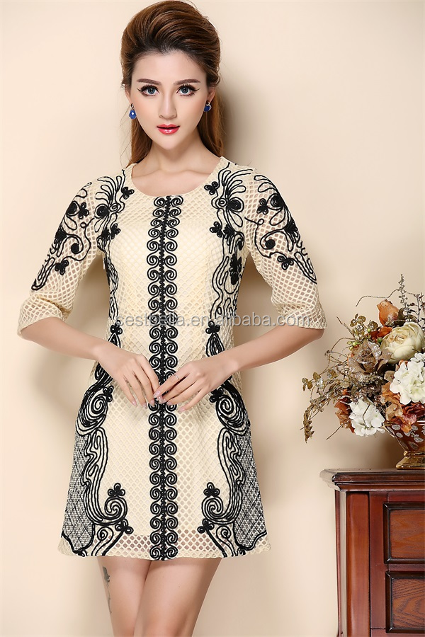 fashion dress for women elegant latest dress designs Embroidered dress