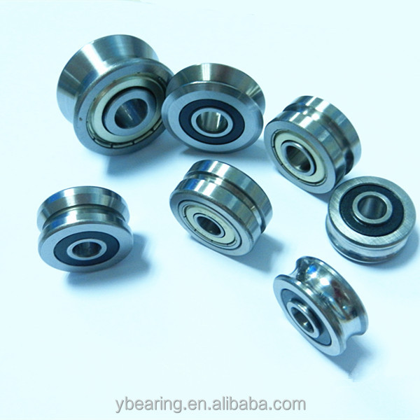 wire straightening rollers SD30 V groove ball bearings