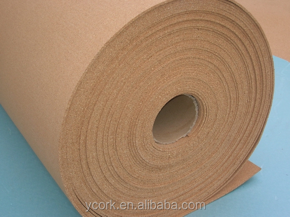 high quality cork roll for cork flooring underlayment