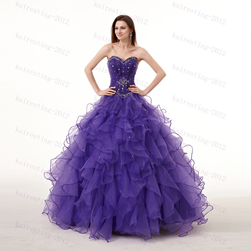 4a2aff4027d27 Get Quotations · Sweet 16 dresses quinceanera dresses with crystal beads  cheap quinceanera gowns lace-up ball gown