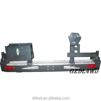 4x4 Off Road Bumpers Land Cruiser 80 Series Fj80 Rear Bumper With Spare  Tire Holder - Buy Rear Bumper,Land Cruiser 80 Rear Bumper,Fj80 Off Road