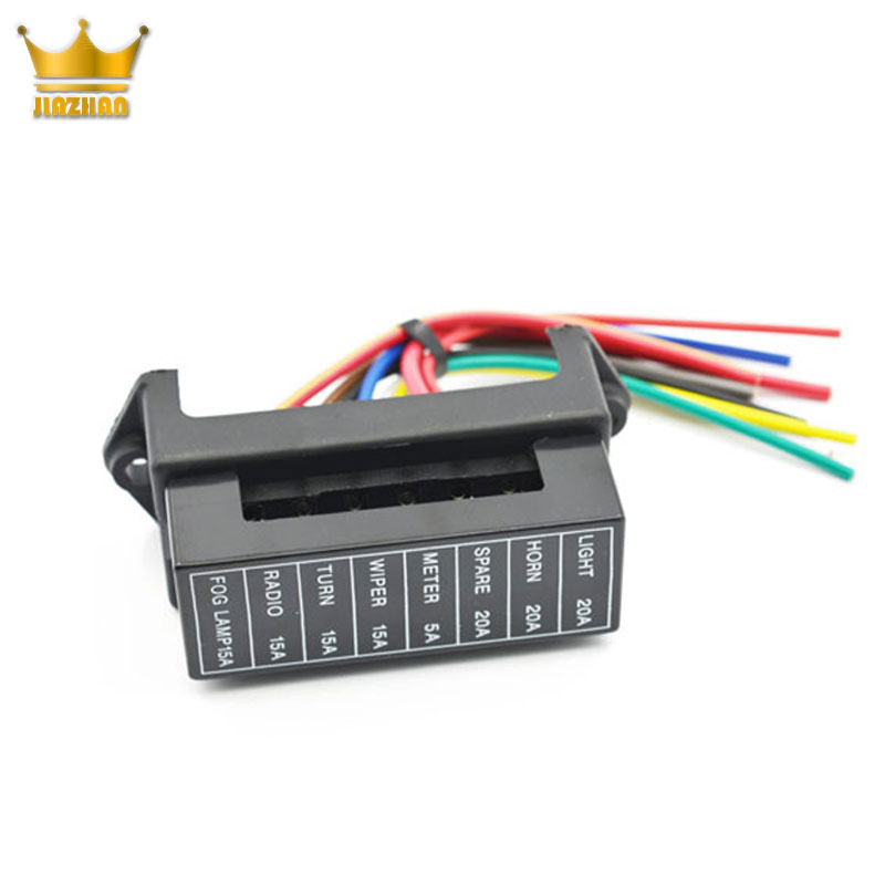 China Wholesale 12v fuse holder/ Automotive /tractor fuse box for cars