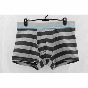 bulk custom stripes men underwear with OEM supply service