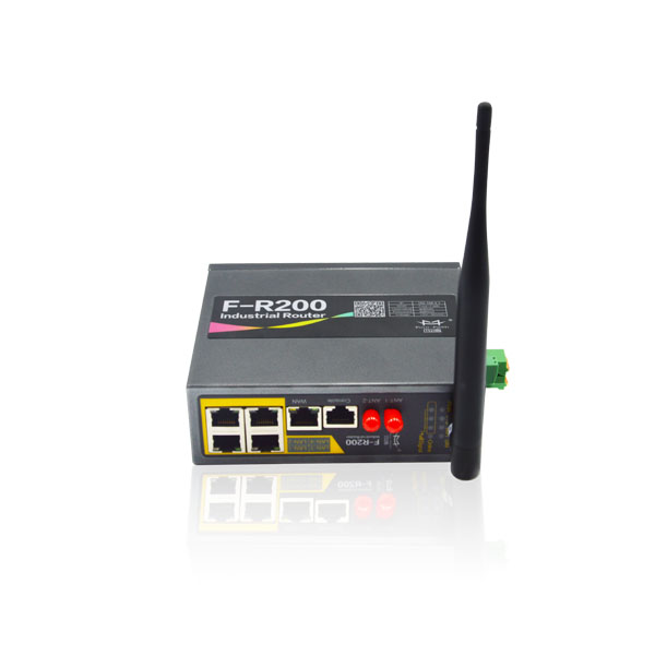 F-R200 dual band <strong>wifi</strong> 2.4G and 5.8G 1000 ethernet high speed 3G industrial router for power substation in Myanmar