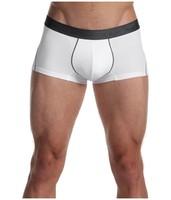 Skinny fit white men boxers underwear