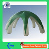 White legs with green cover outdoor inflatable tent, inflatable car tent with good quality