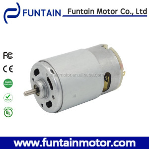 12V DC Motor for Seat Belt Pretensioner , Funtain Motor rs-555