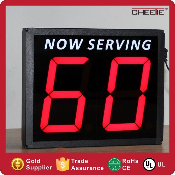 Large New 10 Inch 7 Segment Led Display View Digital
