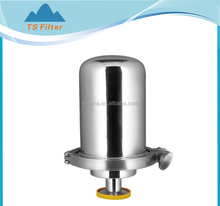 top stainless steel medium air filter housing