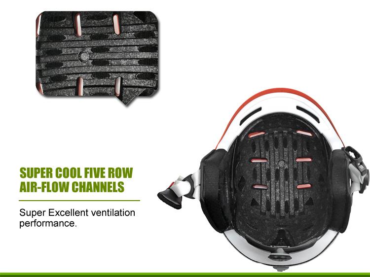 High Quality Ski Helmet Goggle Strap 17
