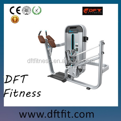 Best sell DFT-818 GLUTE commercial Gym exercise machine/DFT FITNESS/strength machine produced in Dezhou shandong