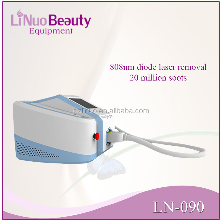 permanent 808nm laser diode hair removal machine
