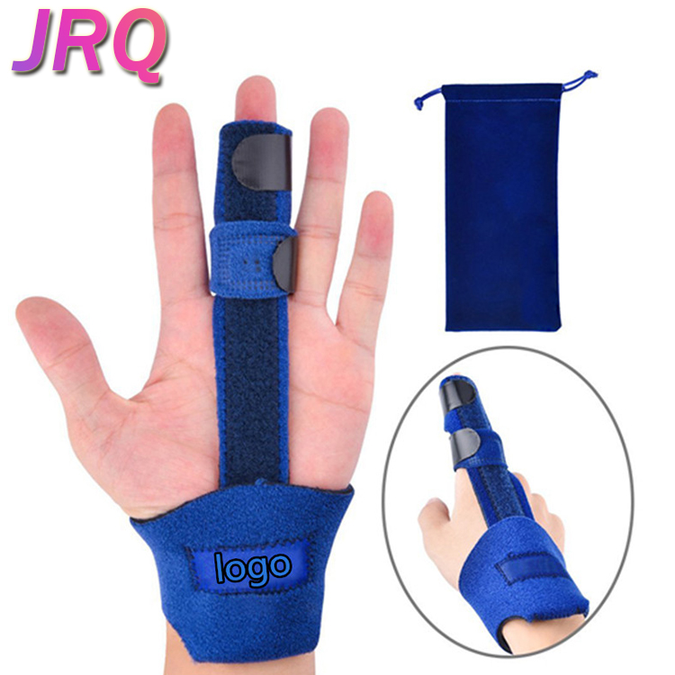 Malleable Metallic Hand Splint Pain Relief Finger Support Adjustable Medical Pinky Finger Splint