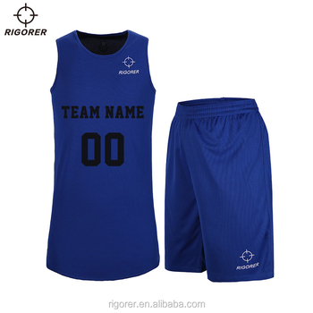 Basketball Reversible Jersey Uniforms by 2 Sides Wear Customized College Basketball Jersey