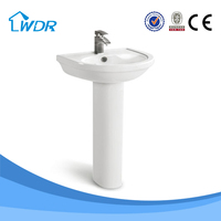 Vanities smart design ceramic wash basin royal expert luxury hotel bathroom vanity