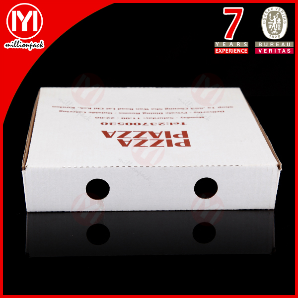 wholesale and custom pizza box paper packaging