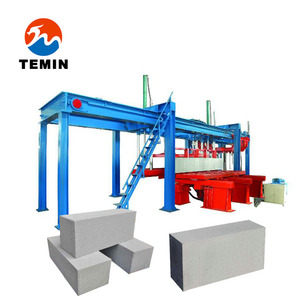 Professional automatic AAC block production line Factory supply quality Autoclaved Aerated Concrete manufacturing process